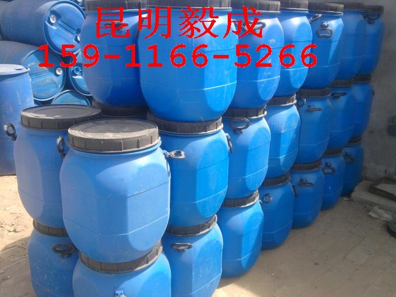 50l大口方形塑料桶 - 昆明油桶销售昆明油桶回收昆明